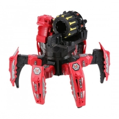 Dark Mars Spider Space Warrior Blaster Fighting Robot Remote Control