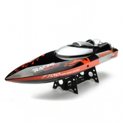 FT010 2.4G Racing Boat 35KM/H High Speed Auto-Flip Over 65CM