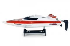 FT009 4-Channel 2.4G High Speed Racing RC Boat - Orange